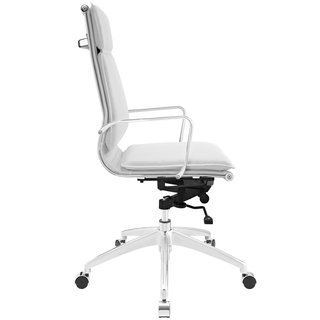 Instant Agent High Back White Office Chair 2