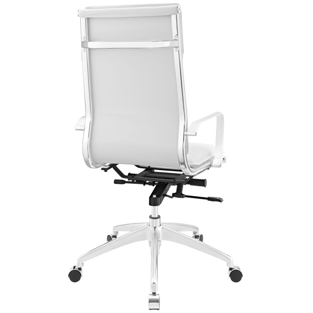 Instant Agent High Back White Office Chair 3