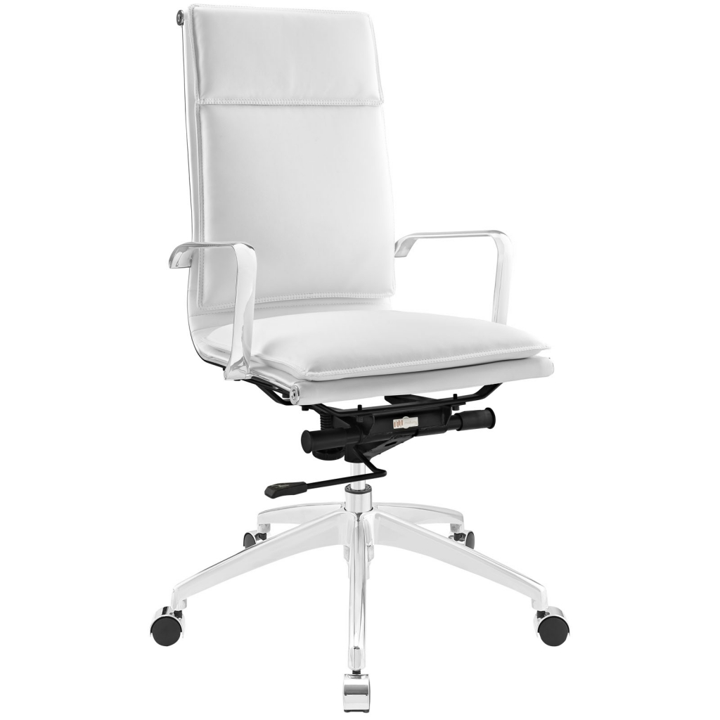 Instant Agent High Back White Office Chair