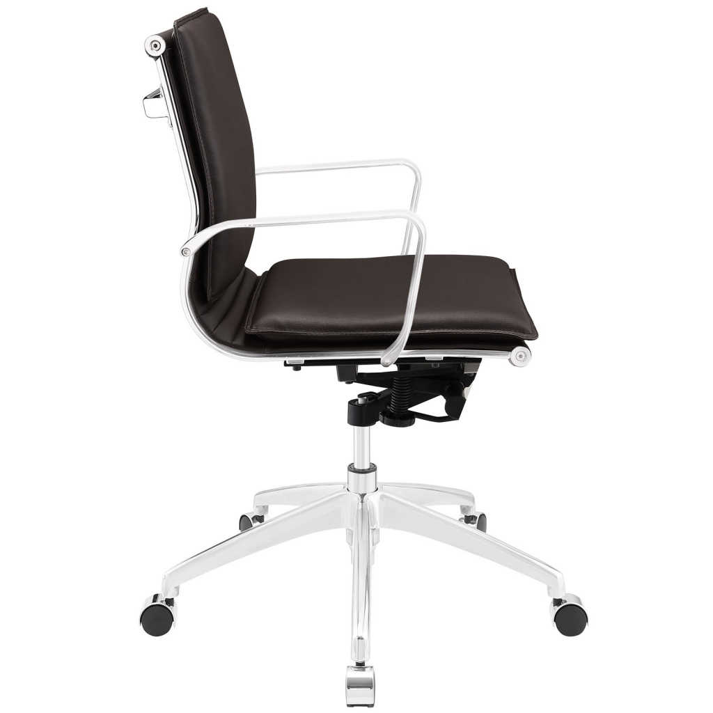 Instant Agent Low Back Brown Office Chair 2