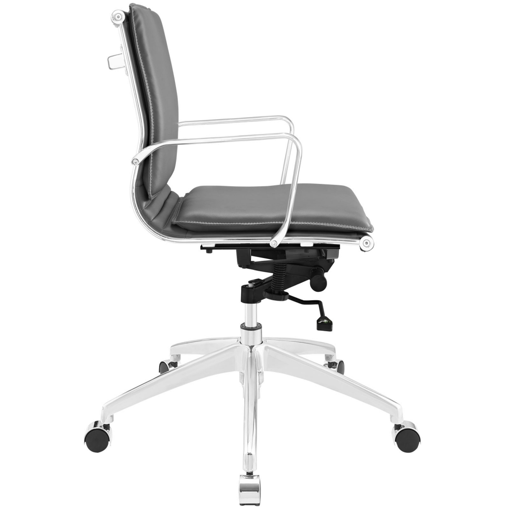 Instant Agent Low Back Gray Office Chair 2