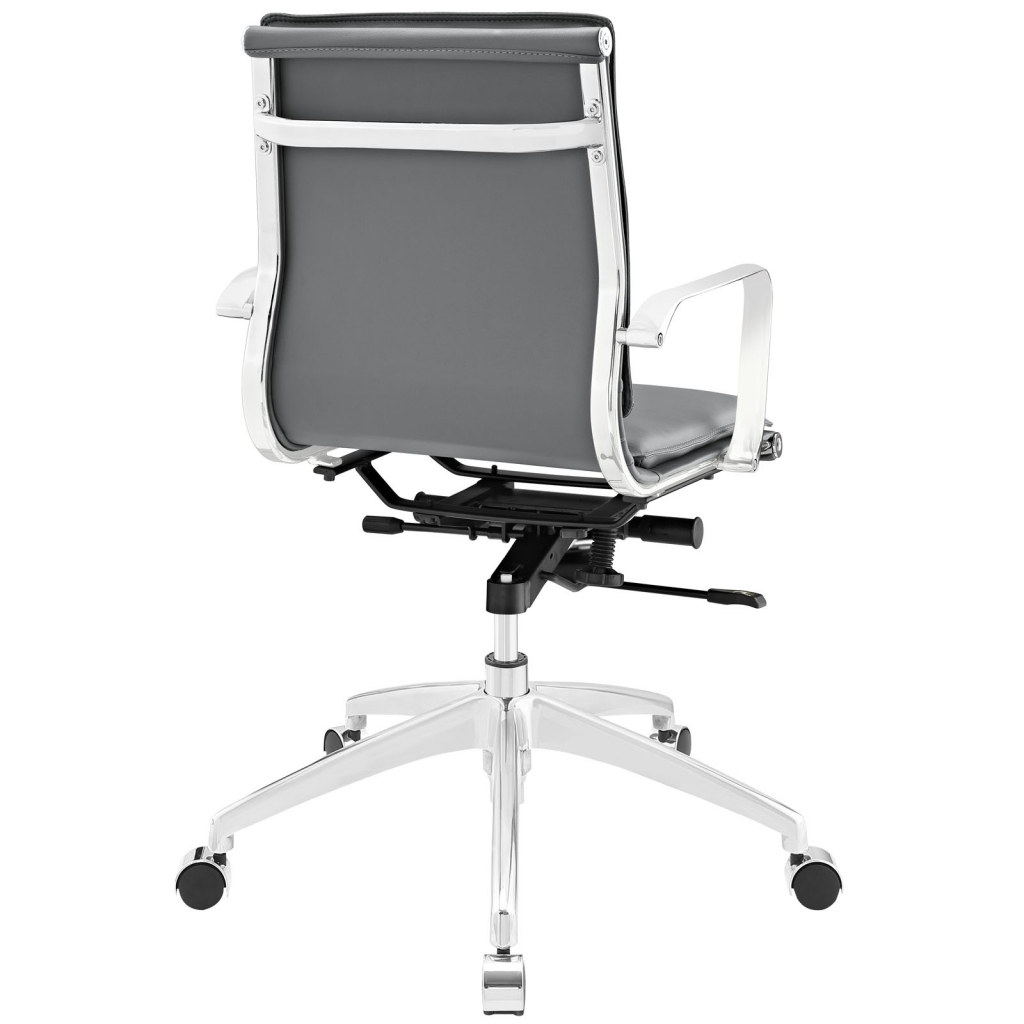 Instant Agent Low Back Gray Office Chair 3