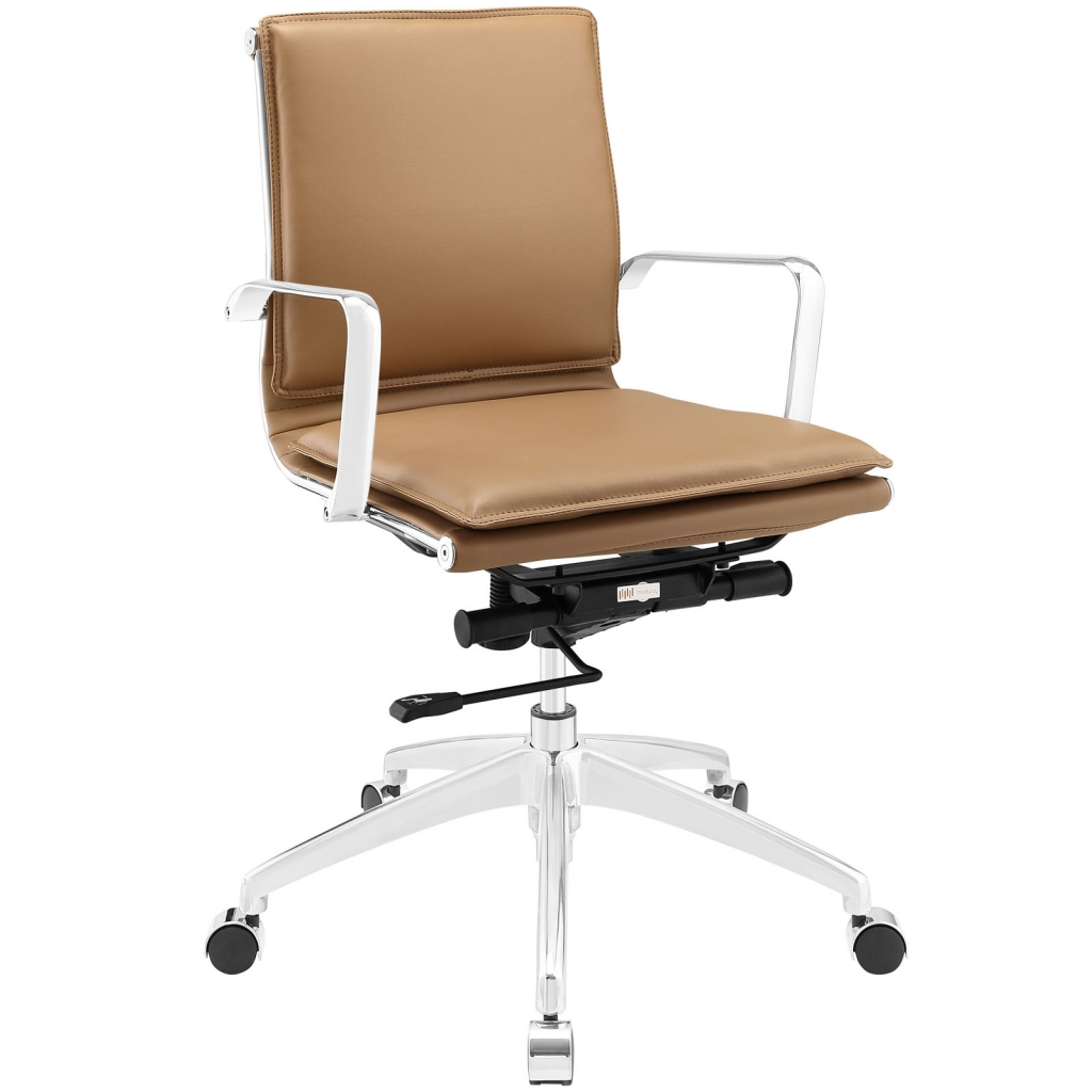 Instant Agent Low Back Tan Office Chair