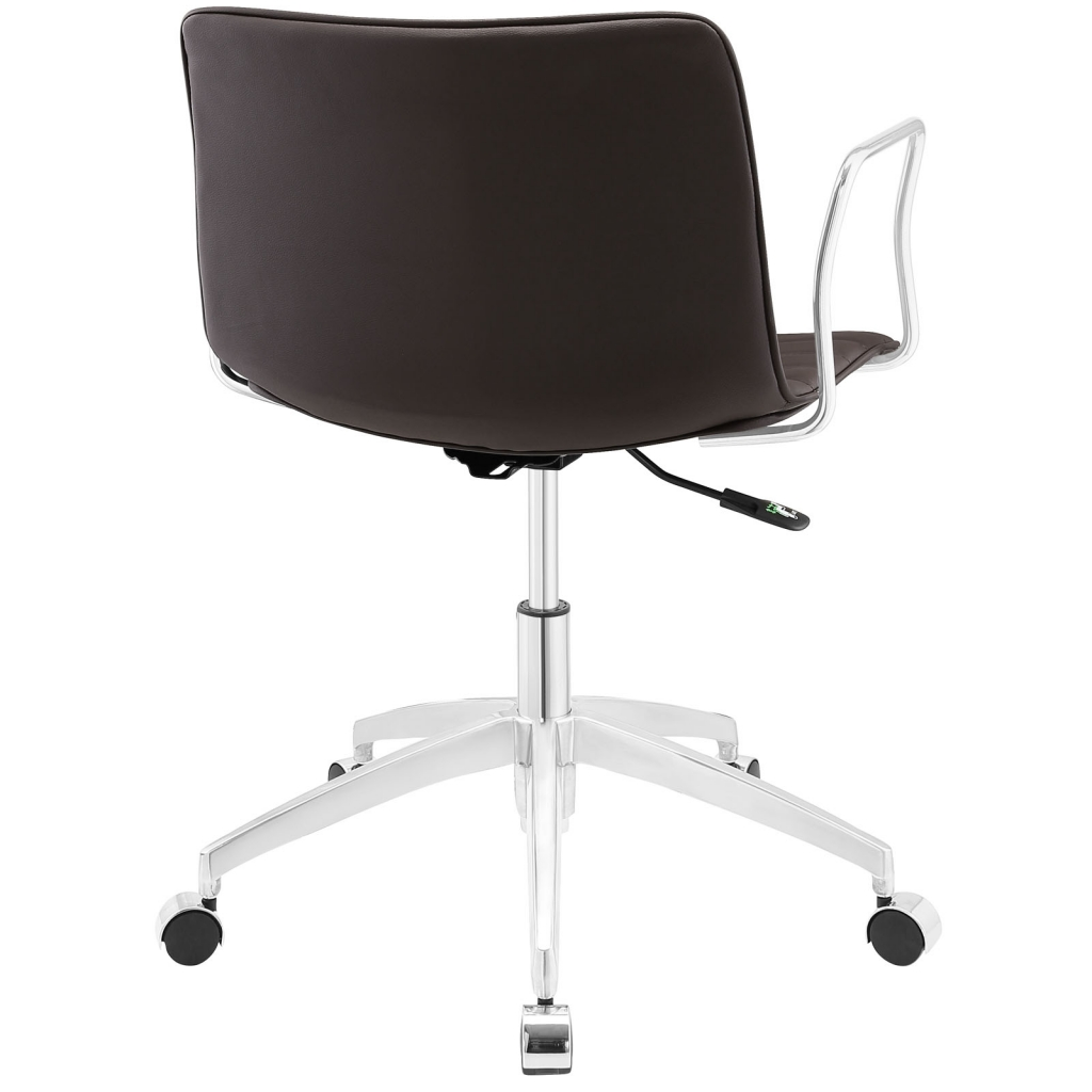 Instant Studio Brown Office Chair 3