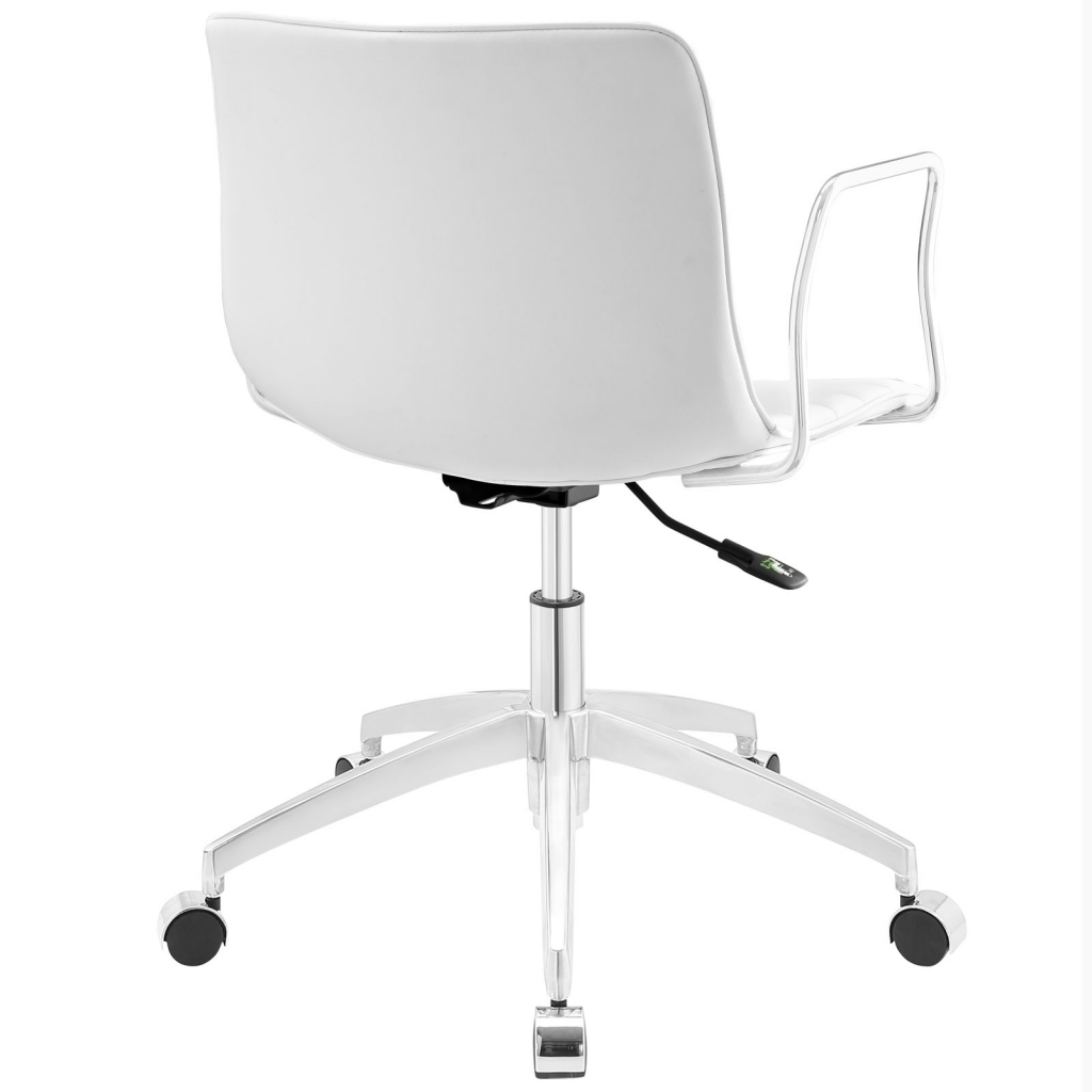 Instant Studio White Office Chair 3
