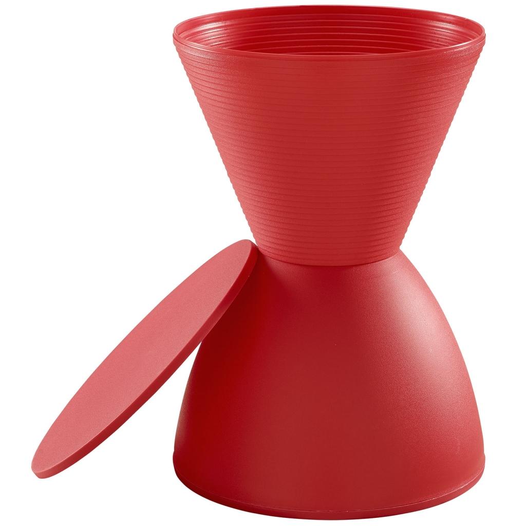 Red Yogi Storage Stool 3