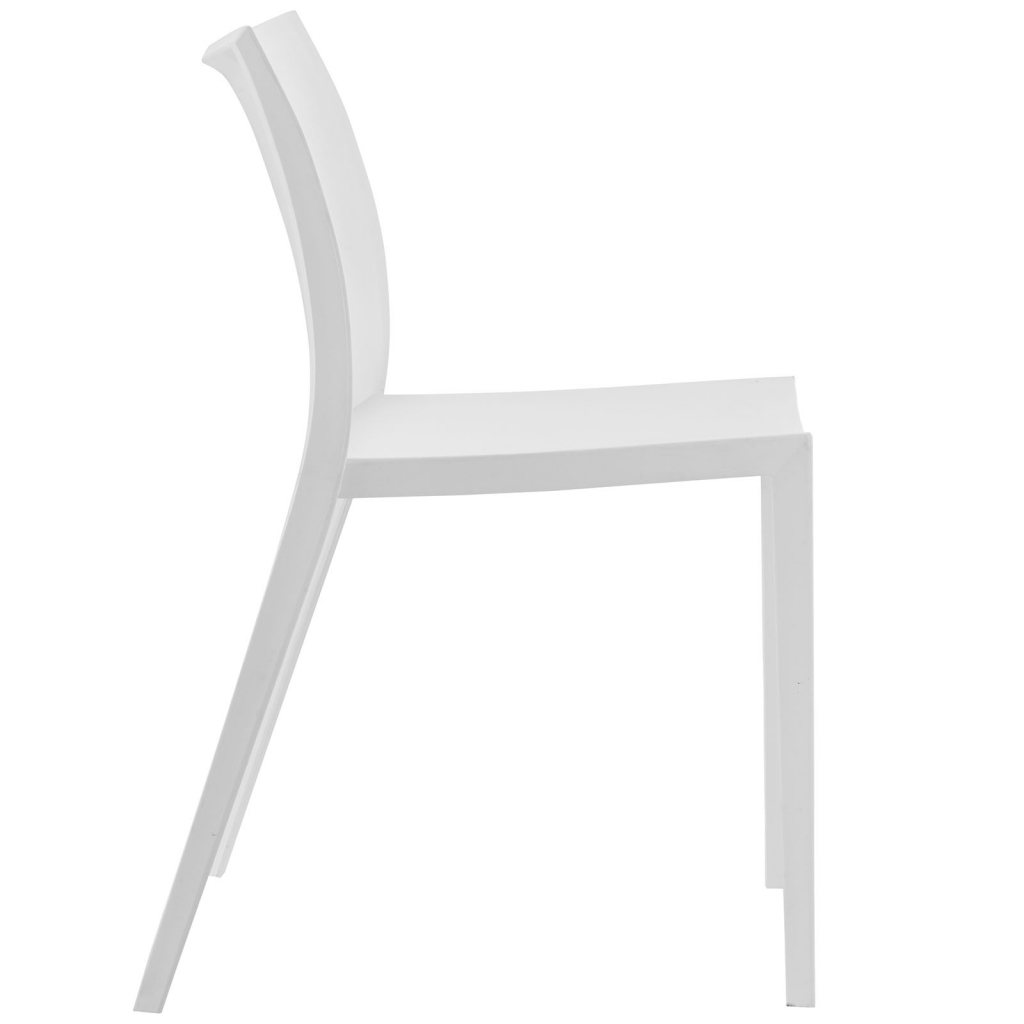 White Cove Plastic Chair 2