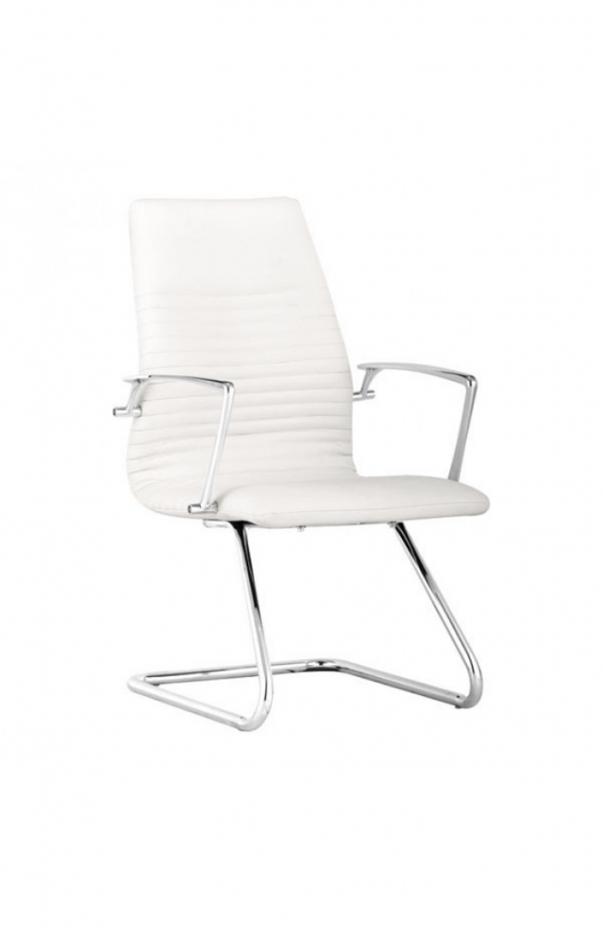 White Instant Advisor Chair 3