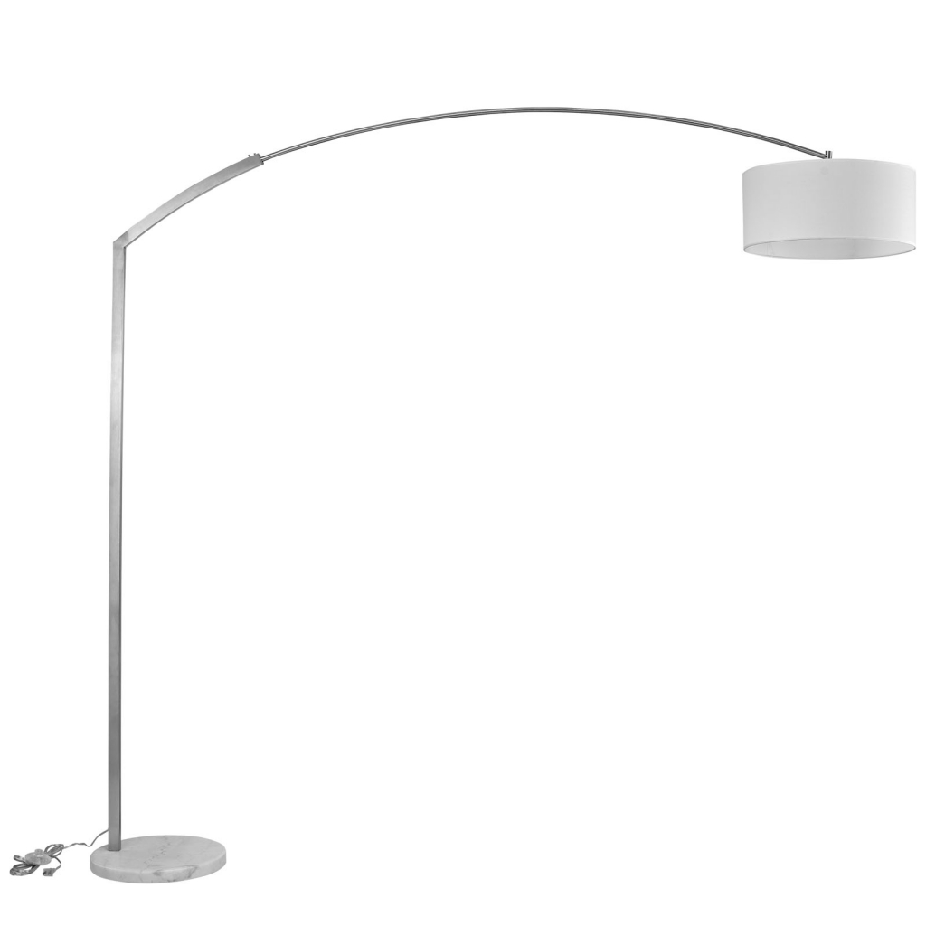 White Marble Extend Floor Lamp 2