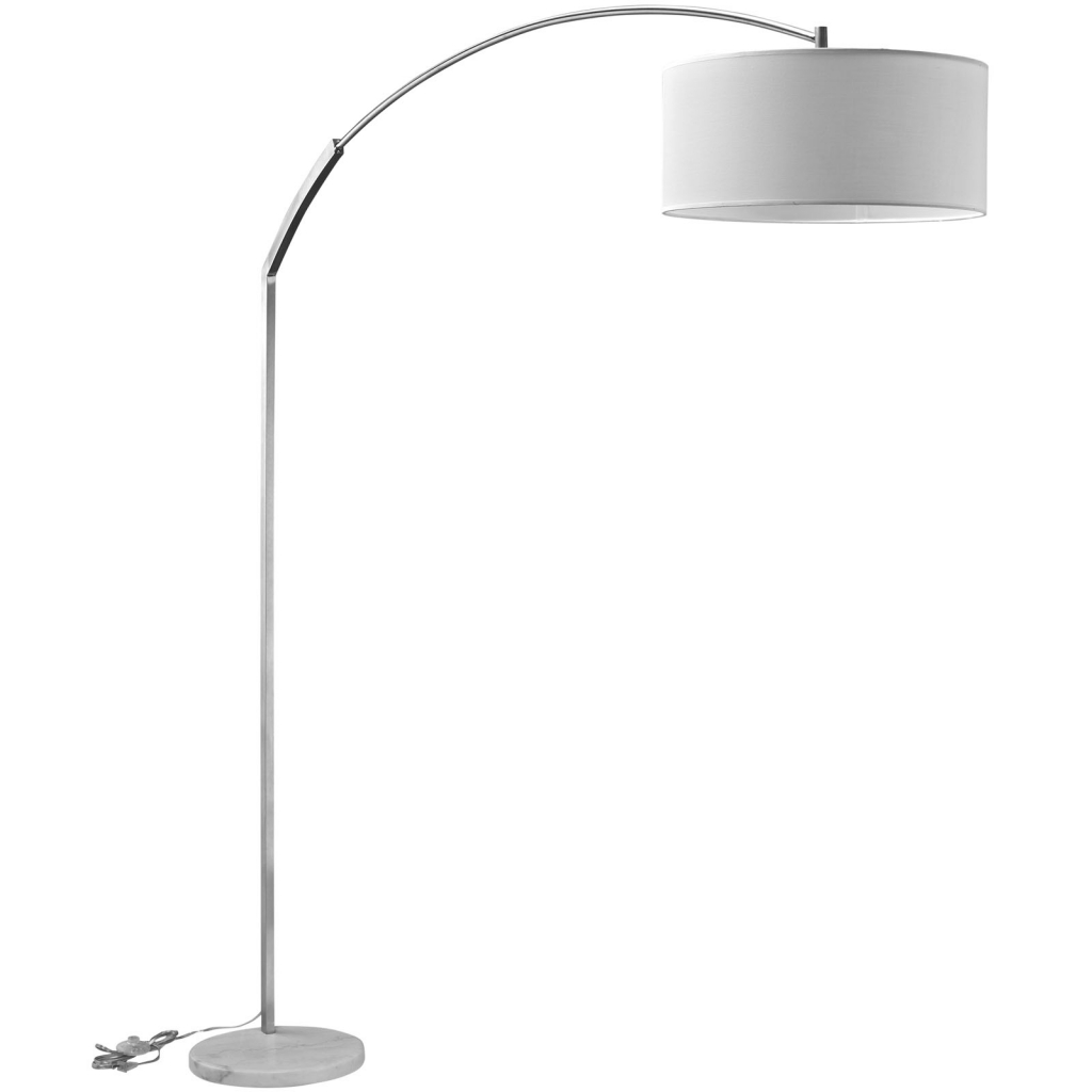 White Marble Extend Floor Lamp