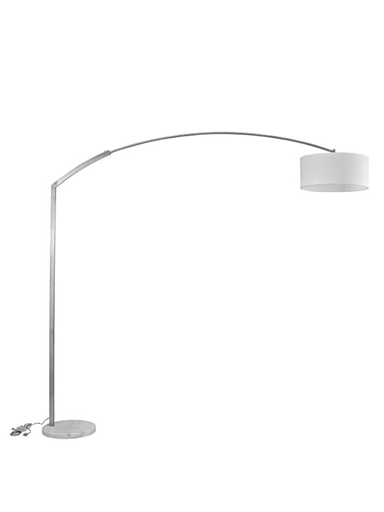 White Marble Extend Floor Lamp1