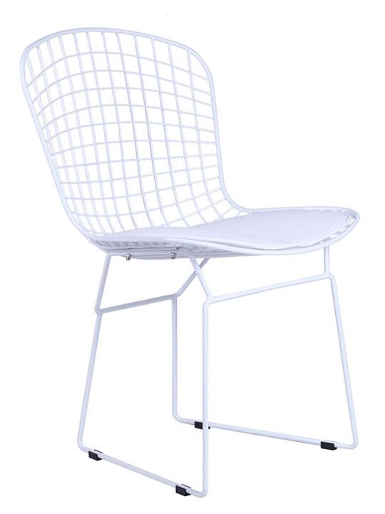 White Wire Dyson Chair