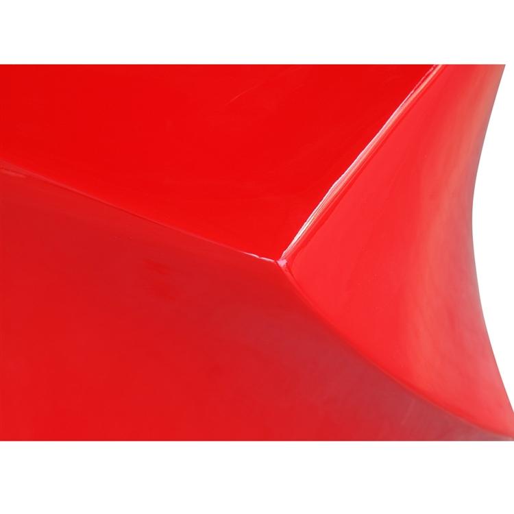 red geo stool 3