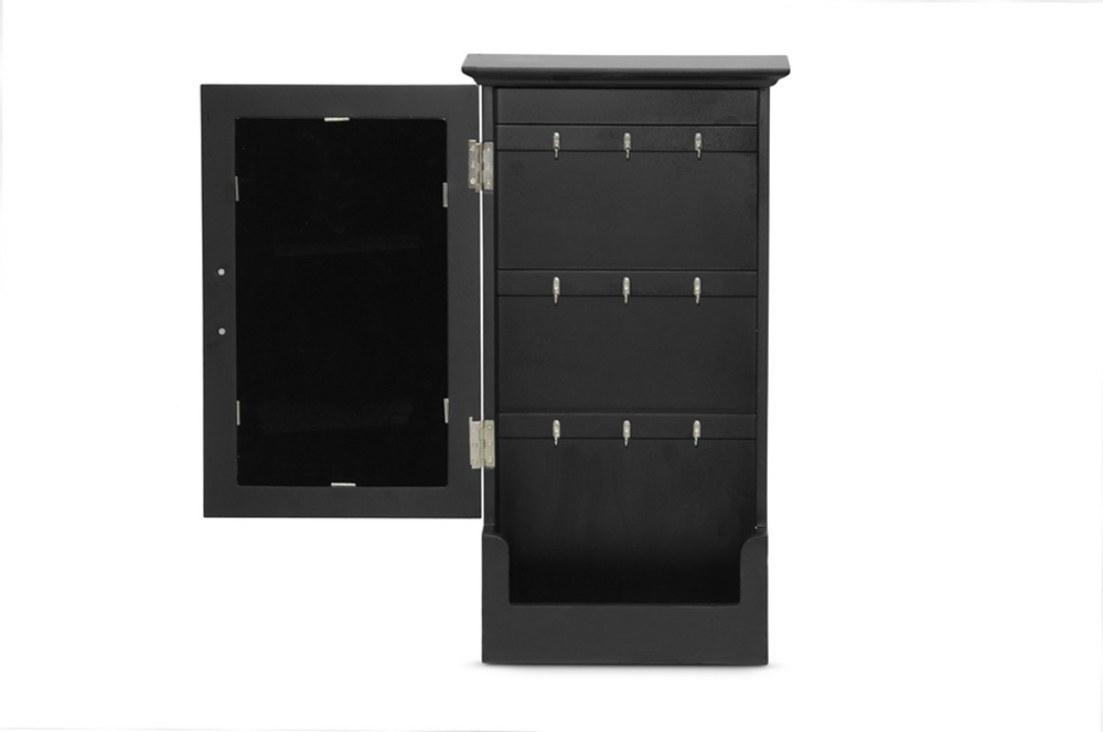 Black Mirror Wall Cabinet