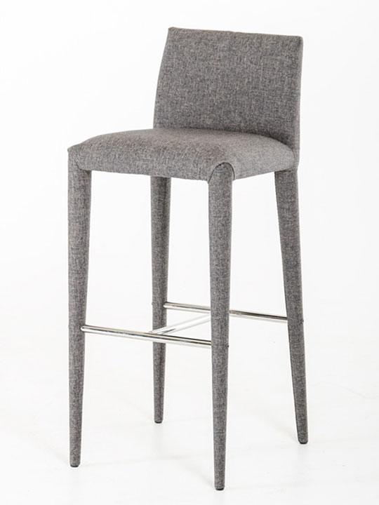 gray modern barstool