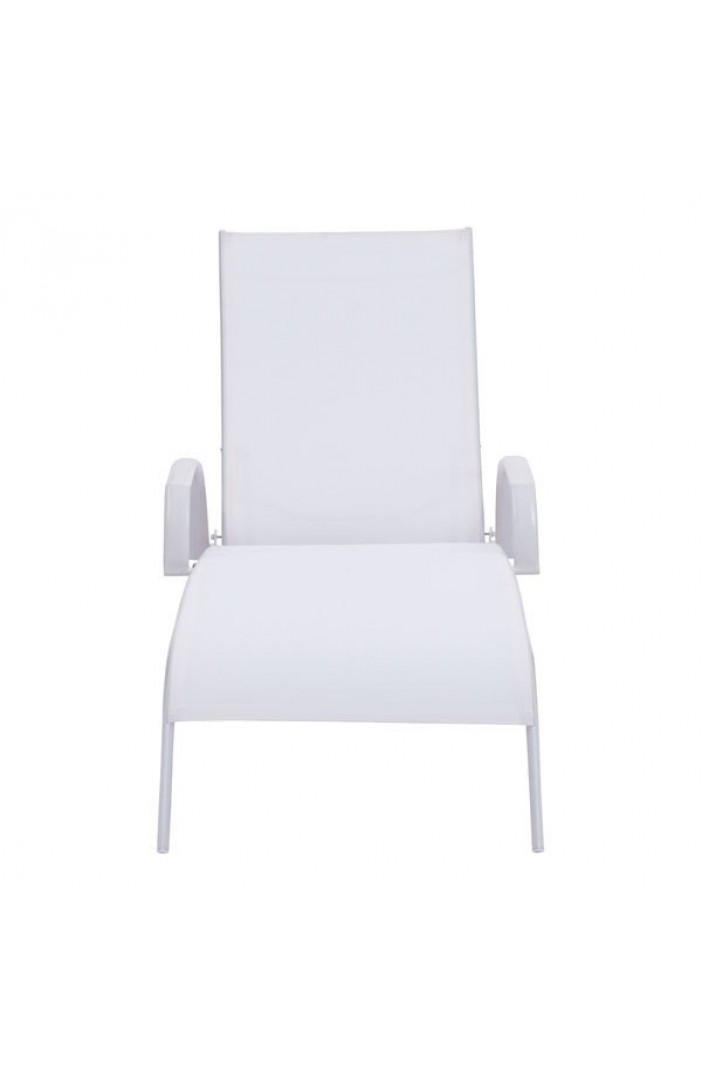 St barths lounge chair white