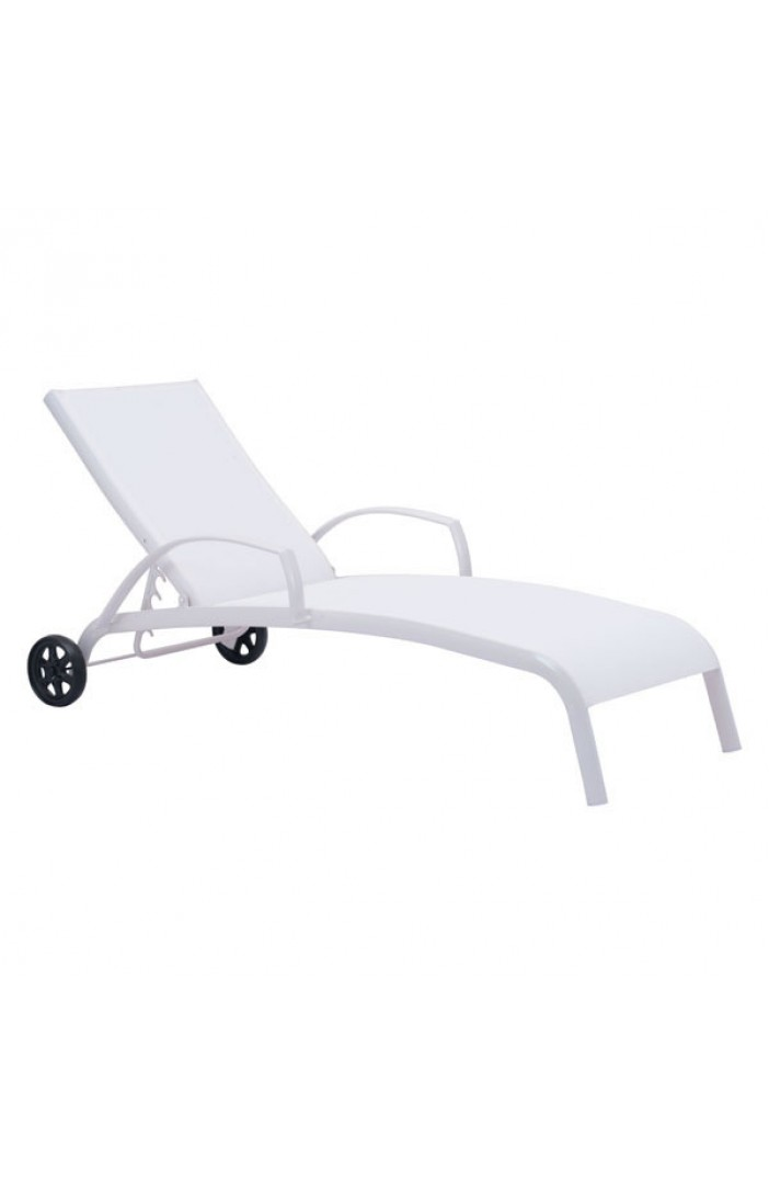 outdoor lounge chair wheels modern