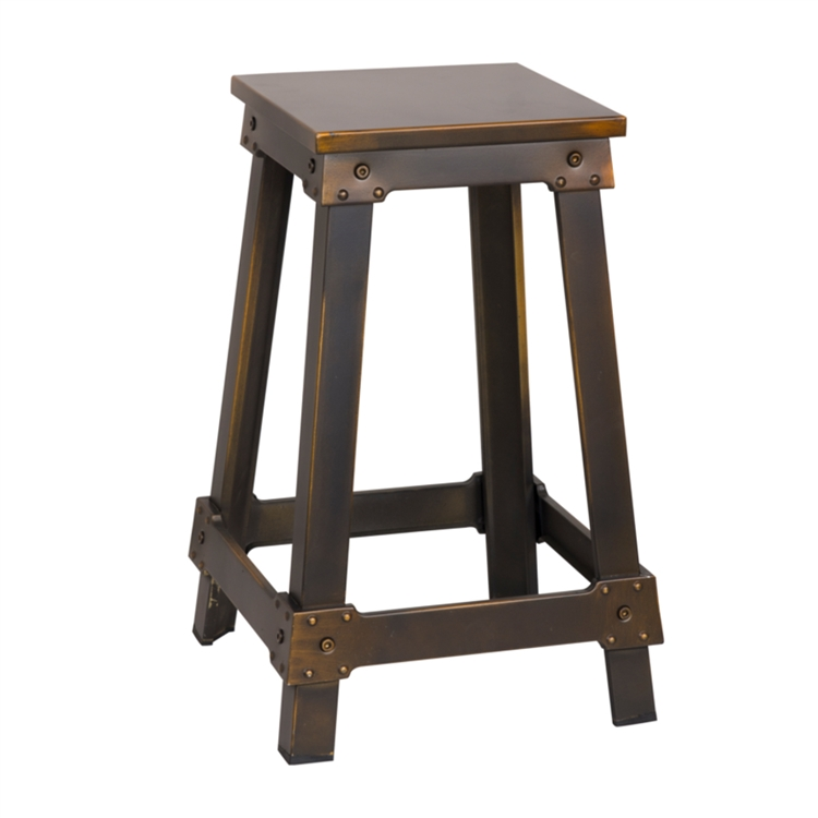 streamline copper counter stool