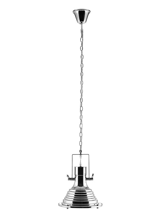 Chrome Industrial Pendant Light1