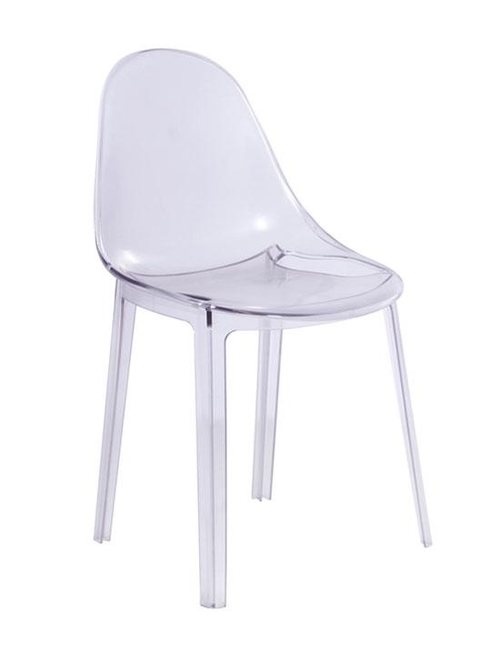 clear chair