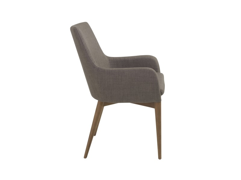 Uptown Armchair Light Gray 3