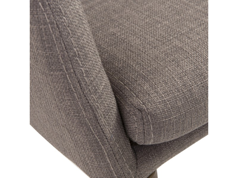 Uptown Armchair Light Gray 6
