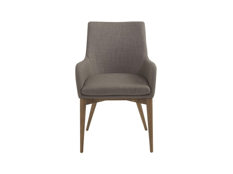 Uptown Armchair Light Gray