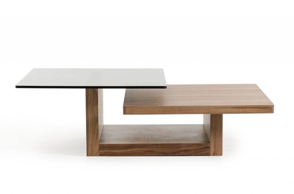 Wood Balance Coffee Table