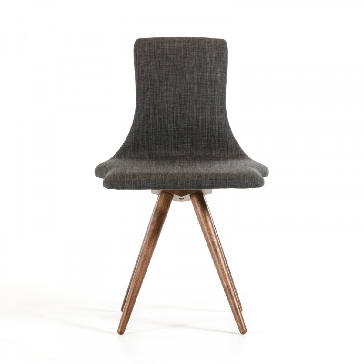jetson mid century gray fabric chair 5