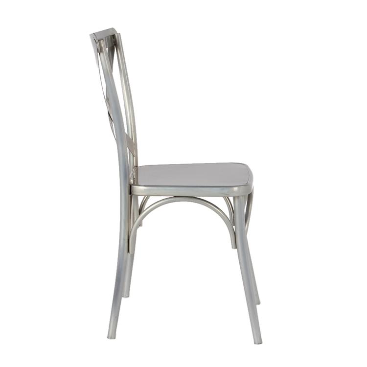 metal x chair 2