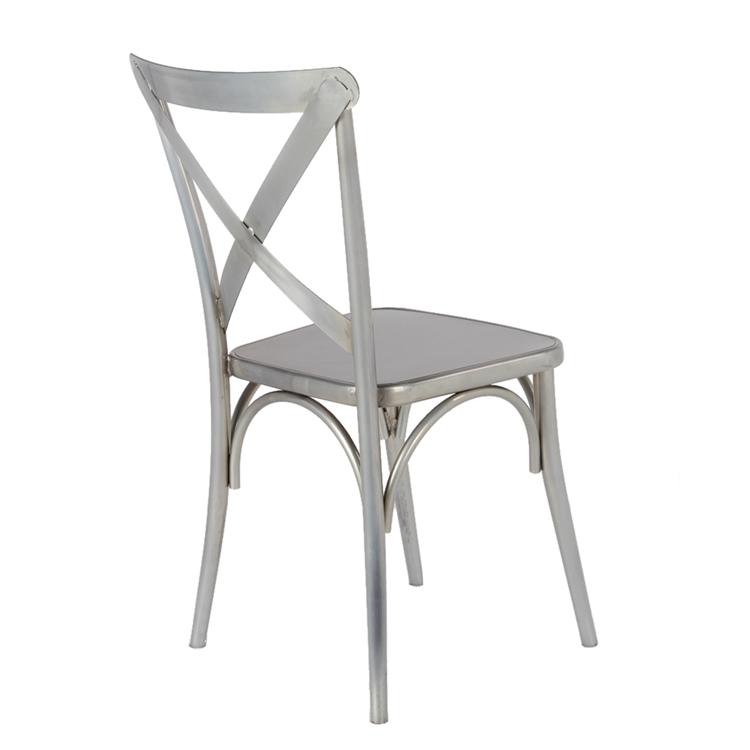 metal x chair 3