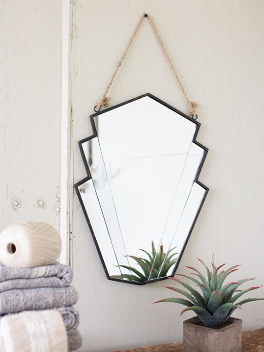 Avant Garge Hanging Wall Mirror