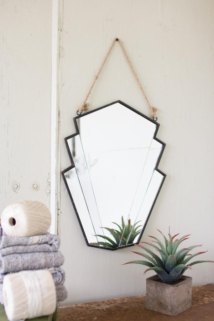 Avant garde moder mirror
