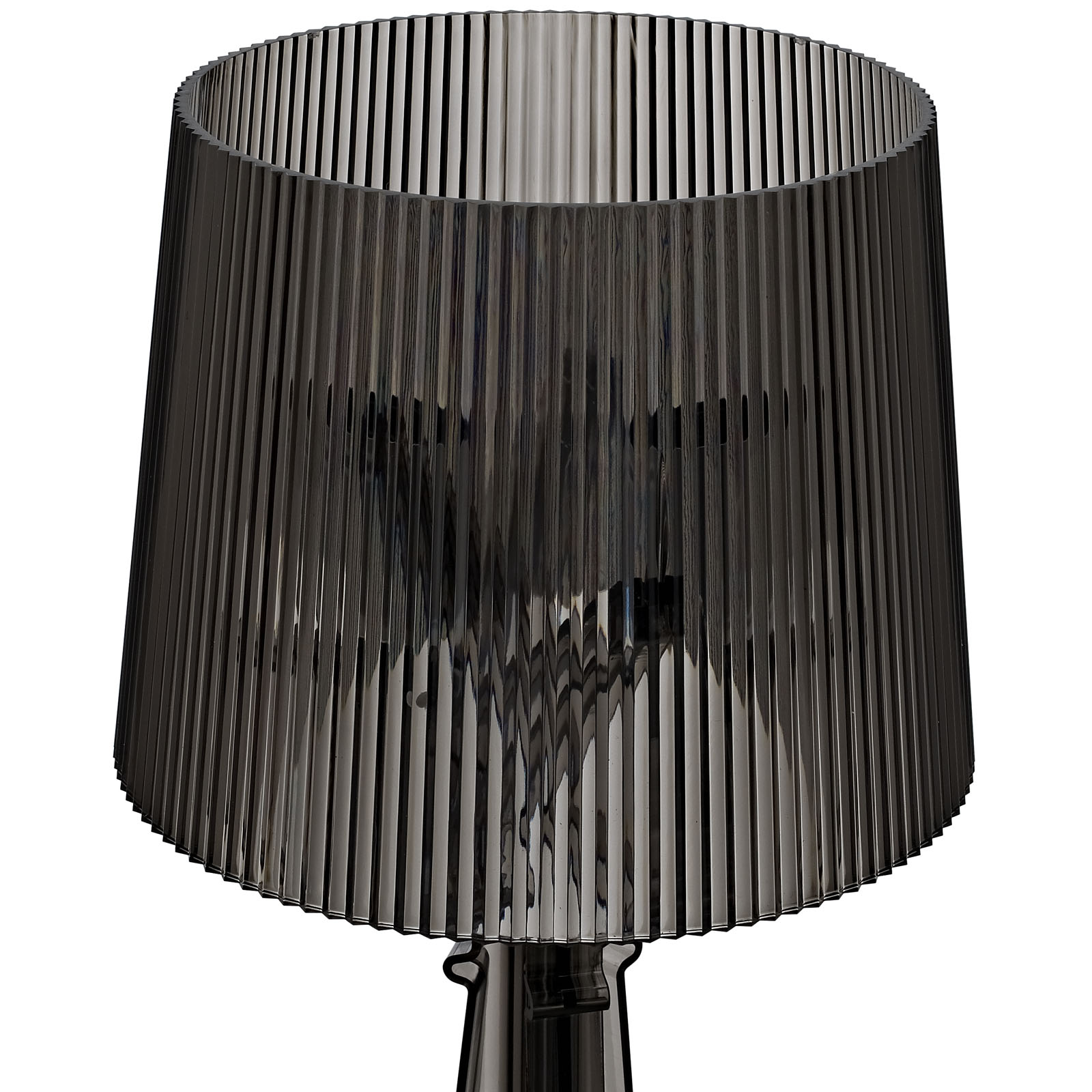 Black Acrylic Table Lamp Medium 3