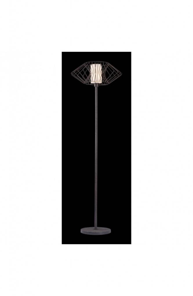 Black Wire Floor Lamp 2