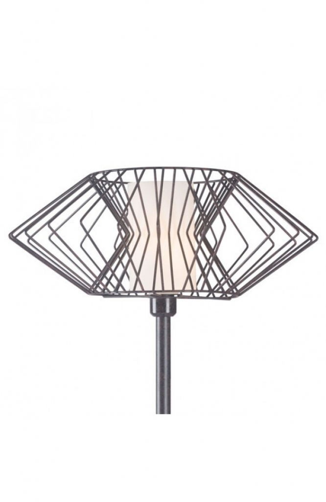 Black Wire Floor Lamp 3