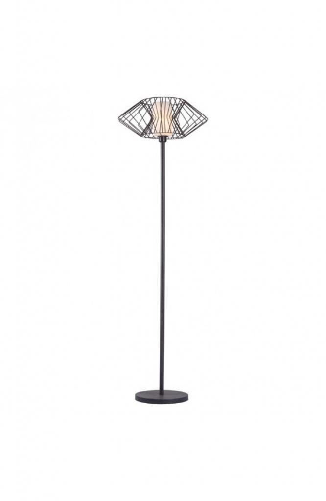Black Wire Floor Lamp 4