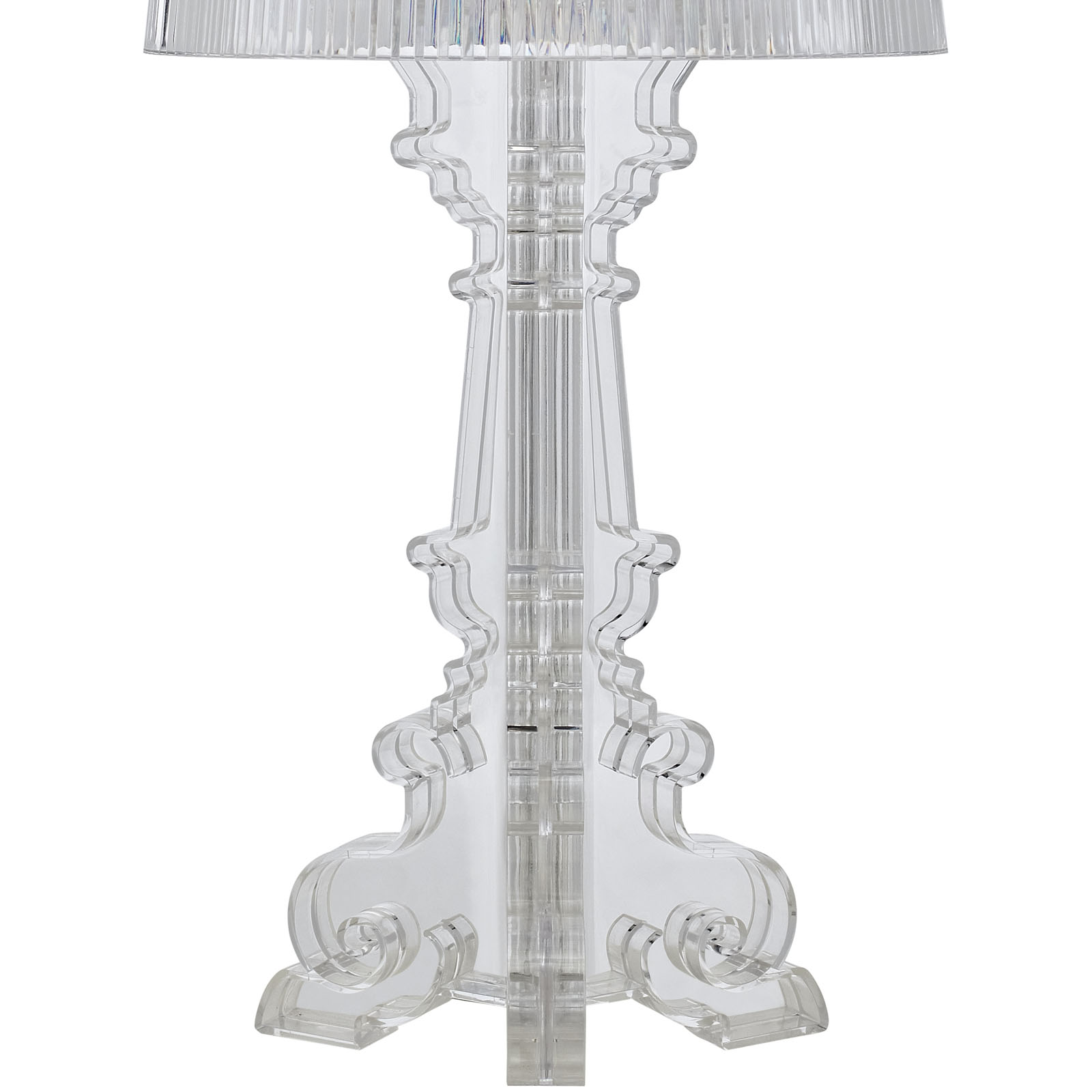 Clear Acrylic Table Lamp Medium 2
