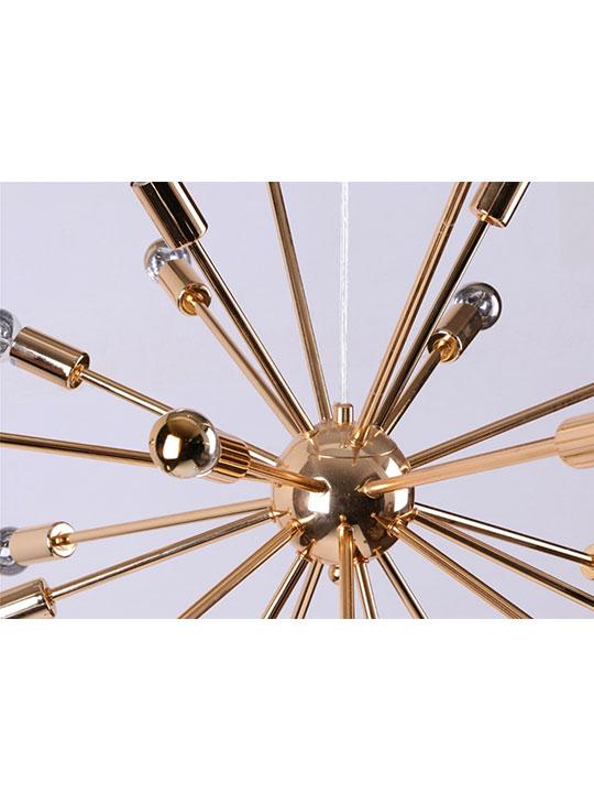 Gold Sputnik Chandelier 3