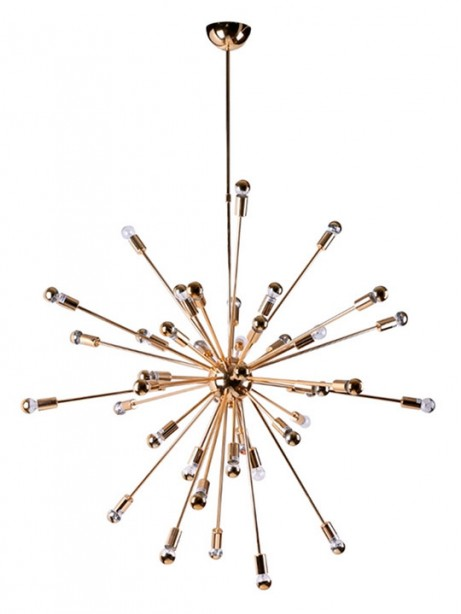 Gold Sputnik Chandelier 461x614