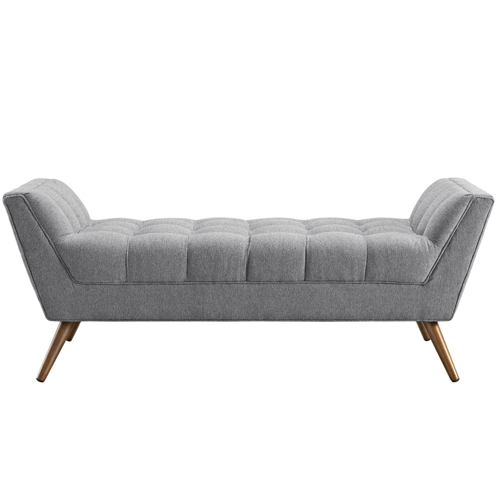 Light Gray Hued Bench Medium 2