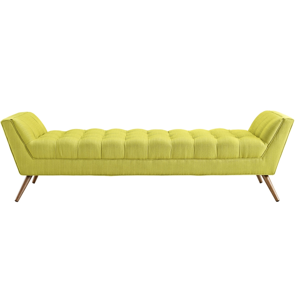Lime Green Hued Bench Large