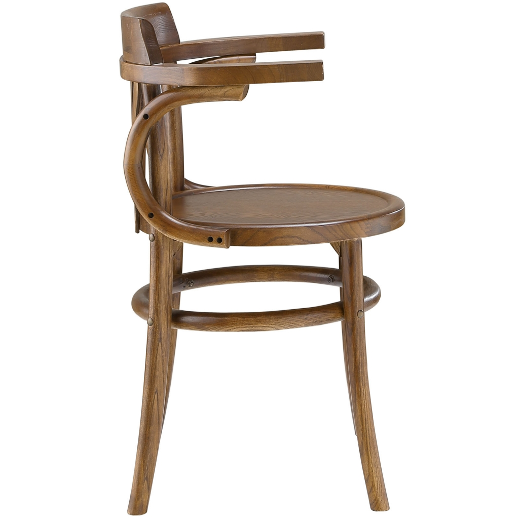 Noma Armchair Walnut Wood 1