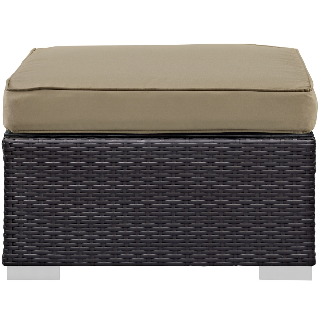Outdoor Moda Ottoman Light Brown 2