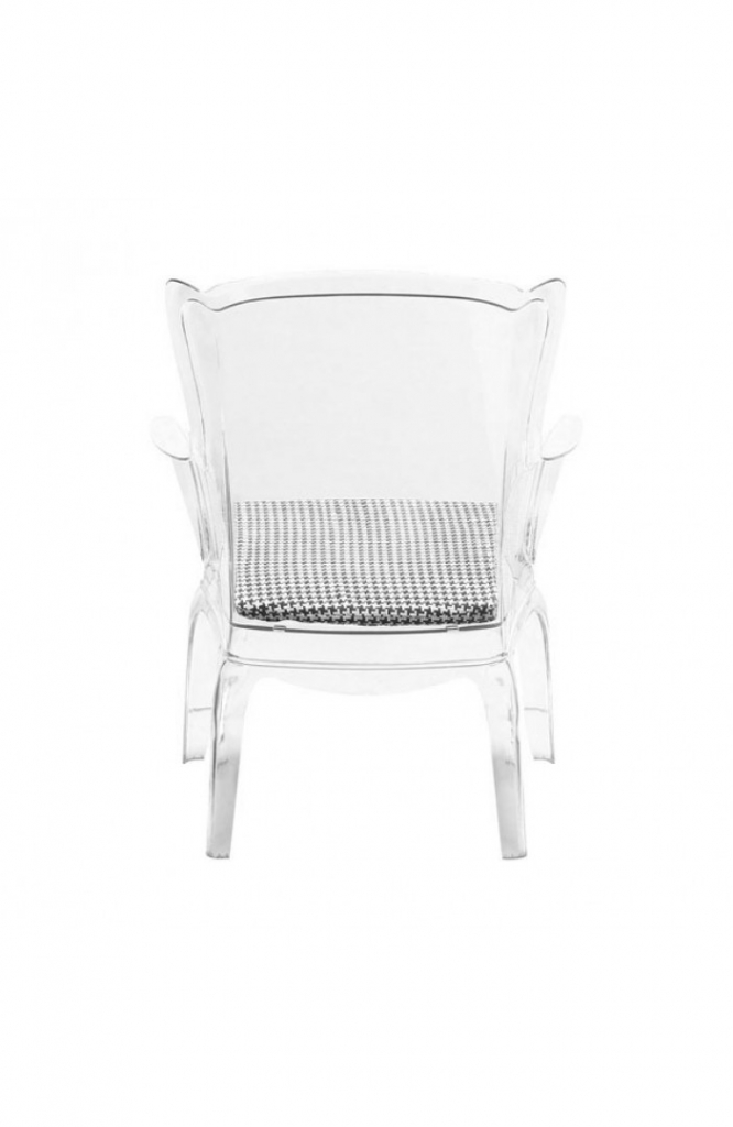 Phantom Clear Accent Chair 11
