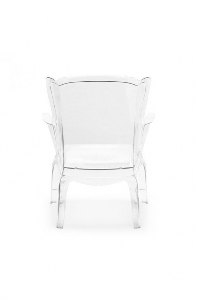 Phantom Clear Accent Chair 5