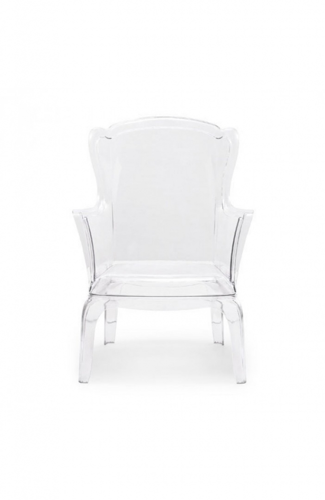 Phantom Clear Accent Chair 7