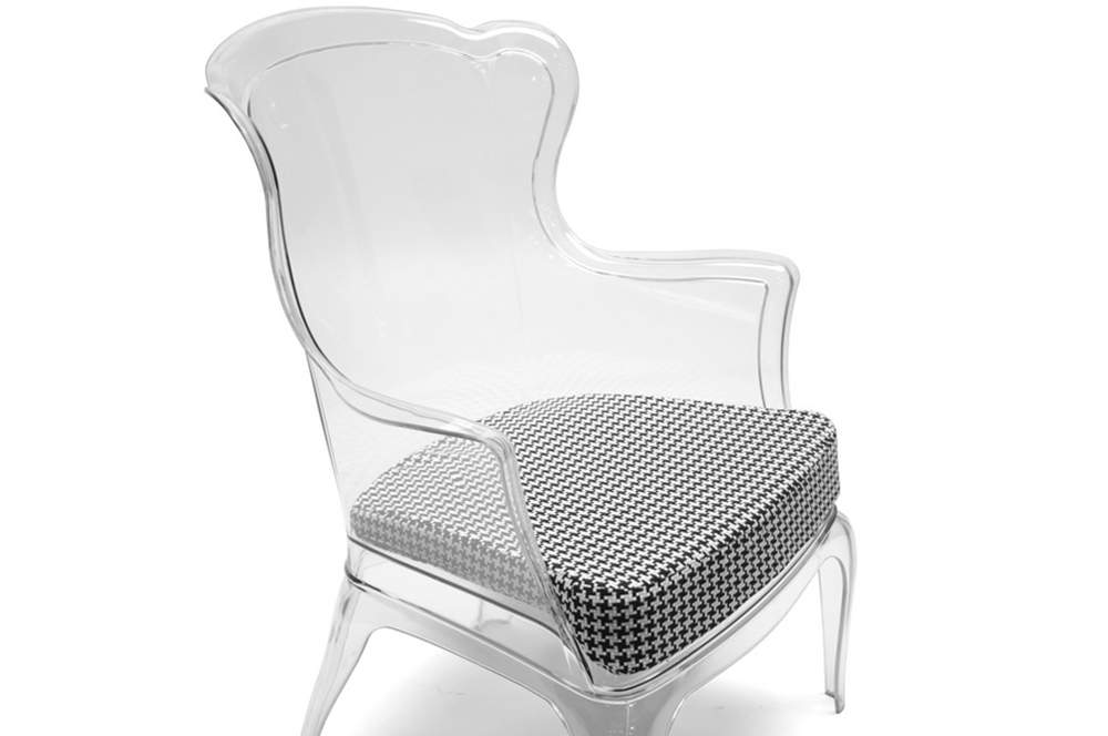 Phantom Clear Accent Chair2