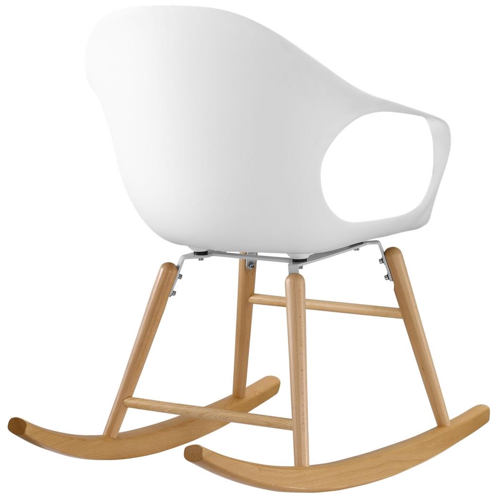 Pony White Rocking Chair 3