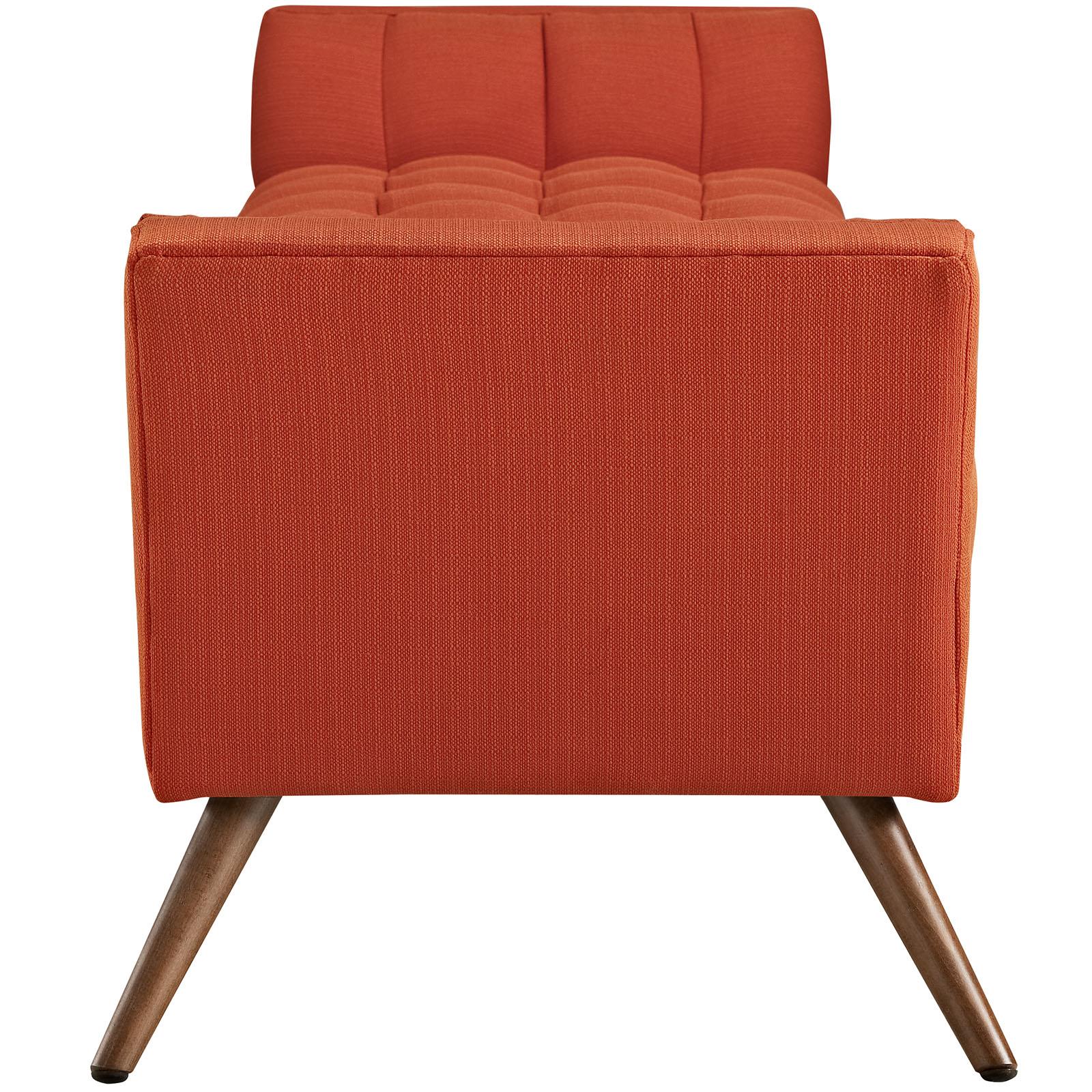 Red Orange Hued Bench Large 2